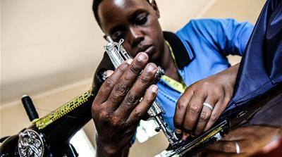Grace is now taking vocational classes [Marc Ellison/Al Jazeera]