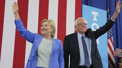 The leaks threaten to disrupt the Democratic Party's unity which was strengthened by Sanders' endorsement of Clinton [Reuters]