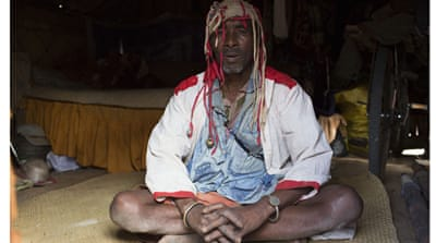 Mbola Tohamana is a traditional healer and a pillar of his community in Madagascar [Tom Maguire/Al Jazeera]