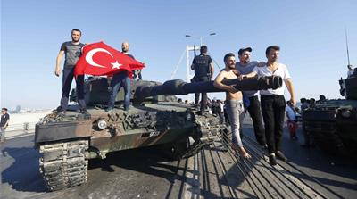 The people defeated the coup in Turkey