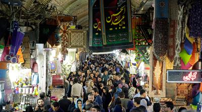 A street market in Tehran, Iran October 18, 2015. (Photo by Thomas Koehler/Photothek via Getty Images) [Getty Images]