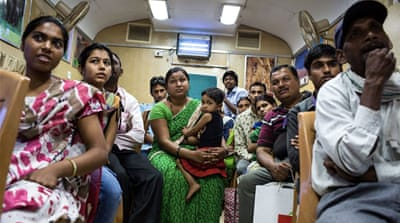 A passage of hope on India's hospital train