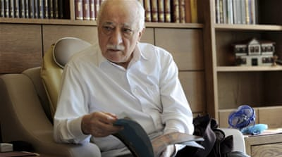 Gulen denies having anything to do with the failed military coup bid,which he condemned [Reuters]