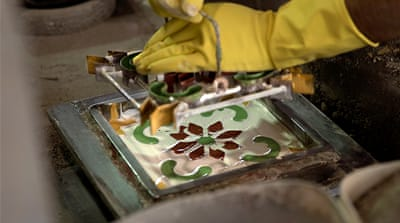 Lebanese artisan revives mosaic tile tradition