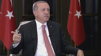 Erdogan: Turkish democracy is not under threat