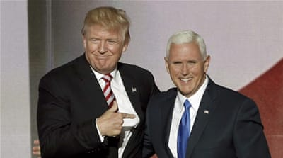 Pence brings a distinctly conservative theocratic strain to politics, commentators say [Reuters]