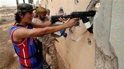 Fierce fighting rages in Libya