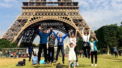 Pardon your French: Chinese tourists and a clash of cultures in Paris