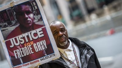 Gray's death was one of several which sparked the growth of the Black Lives Matter movement in the US [Reuters]