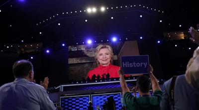 Clinton promises to tackle income inequality and rein in Wall Street [Charles Mostoller/Reuters]