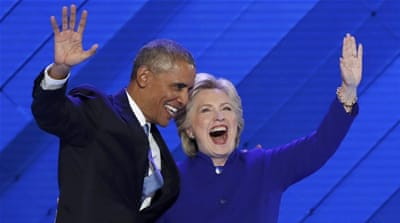 Obama: Clinton most qualified to be next US president