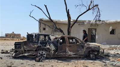 File: Benghazi has witnessed frequent air strikes by faction forces [Reuters]