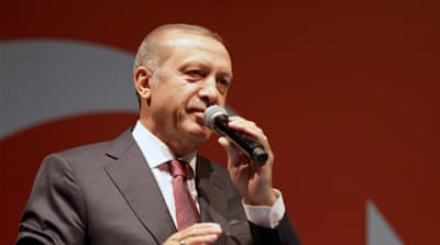Erdogan to West: 'Mind your own business'