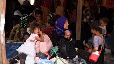 Fallujah crisis is hitting children the hardest