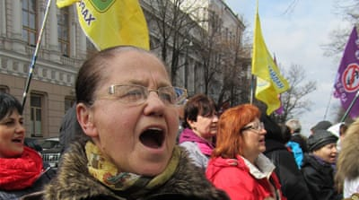 Ukraine's battle between the banks and the borrowers