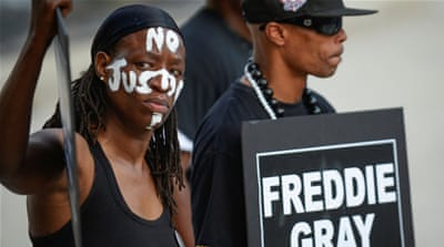 US Justice Department: Baltimore police violate rights