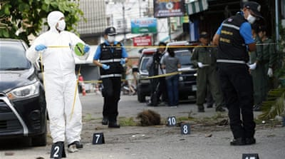 Thailand shaken by multiple bomb blasts