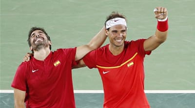 Rio 2016: Nadal helps Spain win tennis gold