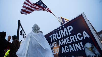 If we do not stand up for what America means, then what we have to fear is Trump and his army of white radicals rising up, and making us all kneel, writes Metta [Reuters]