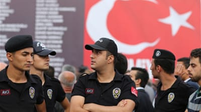 More than 17,000 people have been formally arrested to face trial after the coup attempt [EPA]