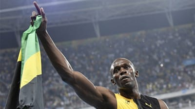 Rio 2016: Usain Bolt lands 100m Olympic gold