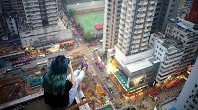 Hong Kong through the eyes of rooftop rebels