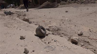 The use of cluster bombs is banned by more than 100 countries [Zouhir al-Shimale/Al Jazeera]