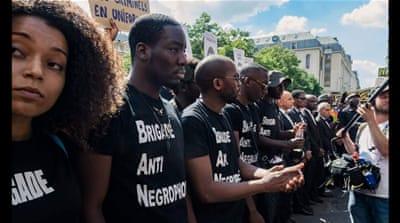Black Lives Matter France movement has gained momentum over the past months [Courtesy of collectif des Associations Unies Solitaires pour l'Afrique et sa Renaissance]