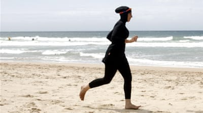 The burkini ban have sparked a heated debate about Muslim integration and French secular values [Tim Wimborne/Reuters]