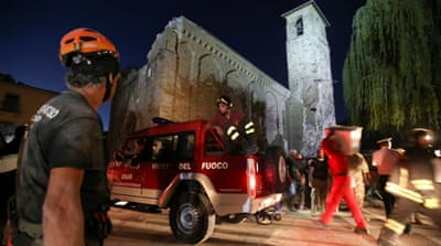 The rescue efforts continued through the night as death toll was expected to increase [Reuters]