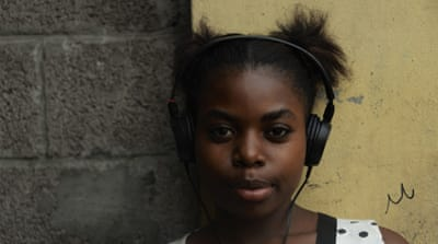 Since March 2016, Kinshasa locals have been able to tune in to hear the voices of the street children they pass each day [Tali/Al Jazeera]