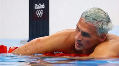 Lochte will not be eligible for the world championships in July [Reuters]