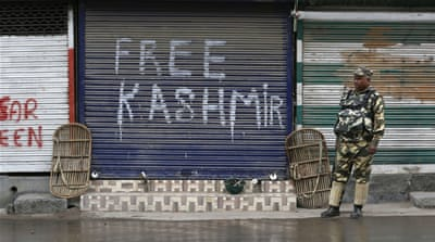 The truth is that the valley is out of control, and the Indian government remains out of touch - both with the Kashmiris and the reality on the ground, writes Chak [Reuters]