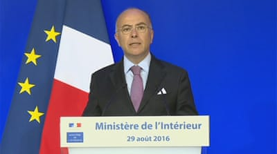 Cazeneuve met the Muslim leaders in the French capital, Paris [Al Jazeera]