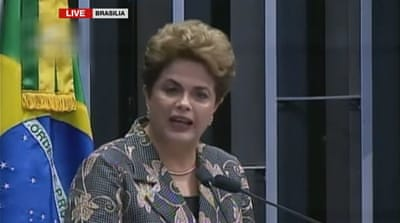 Rousseff, 68, defended her record while testifying at her impeachment trial [Al Jazeera]