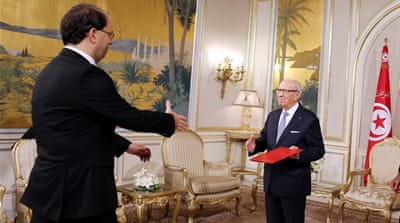 Tunisian president names Youssef Chahed as new PM