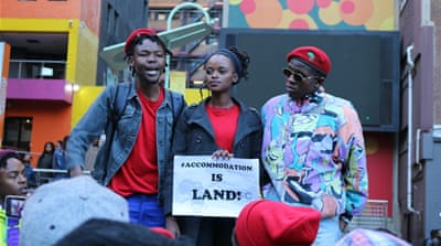 Young South Africans: 'They're showcasing your poverty'