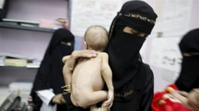 300,000 children go hungry in Yemen