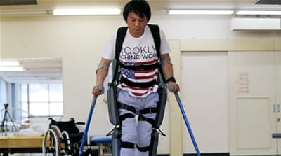 Japan: Company builds robot to help elderly staff