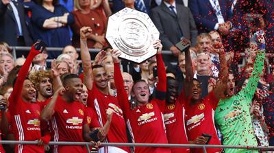 Ibrahimovic goal seals Man Utd's Community Shield win