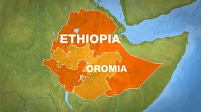 Ethiopia extends state of emergency by four months ethiopia news map of oromia region in ethiopia al jazeera sciox Gallery
