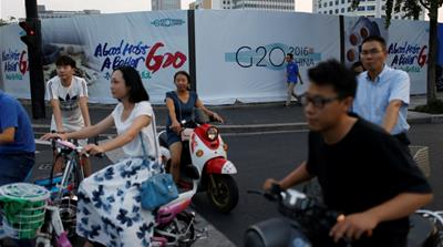 The Chinese city of Hangzhou has all but shut down as it prepares to host this year's G20 summit [Reuters]