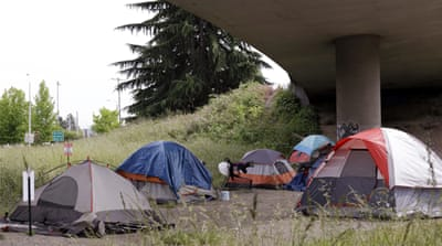 Seattle struggles to deal with high homeless rate