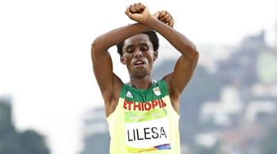 Feyisa Lilesa: 'I am not seeking asylum in the US'