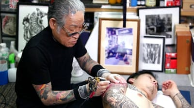 Removing gang stigma from Japan's tattoo culture