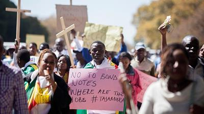 A wave of protests has shaken Mugabe's administration this year [AFP]