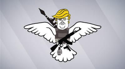Reality Check: Donald Trump is a hawk, not a dove
