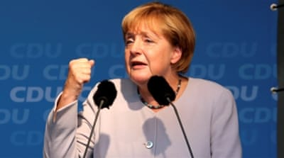 Germany: Merkel's party suffers loss in Berlin election