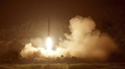 US says it detected failed NKorean missile launch