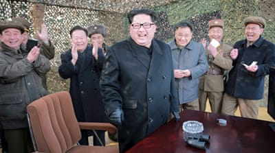 North Korean leader Kim Jong Un has overseen the ground test , according to state media [Reuters]